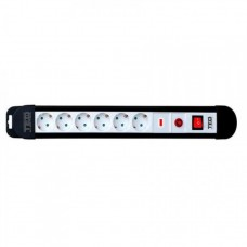 Prelungitor cu protectie, 10 metri, 6 prize schuko, Buton Reset, Led & Switch, Cablu 3x1.5mm, TED Electric